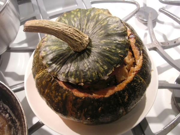 kabocha with lid